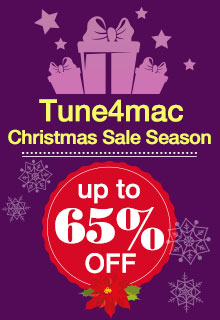 Tune4mac Christmas Special Offer banner
