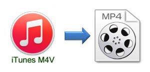 Convert DRM M4V iTunes videos to MP4 format