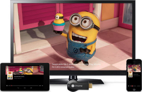 How to Mirror iTunes M4V Movies to TV with Chromecast
