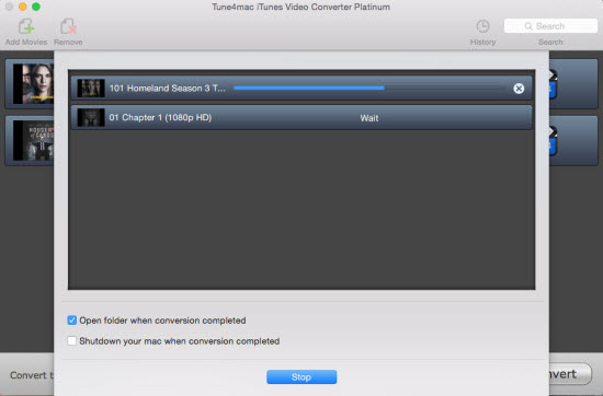 Transferring iTunes M4V rentals to iPad Air 2 and iPad mini 3 with Tune4mac