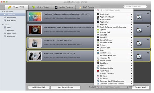 tune4mac itunes drm converter interface
