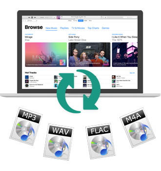 iTunes Apple Music Converter for Mac OS X - Convert M4P to MP3 or