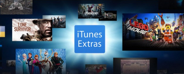 iTunes 11.3 brings iTunes Extras to HD movies.