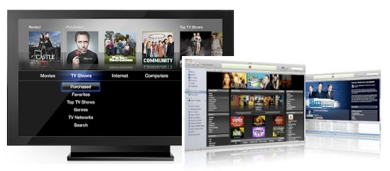 watch iTunes movies on tv