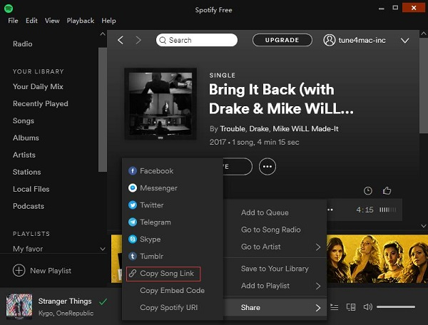 download Spotify songs on computer local files