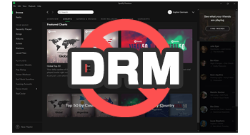 DRM removal from Spotify