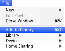 Add Audiobooks into iTunes Library