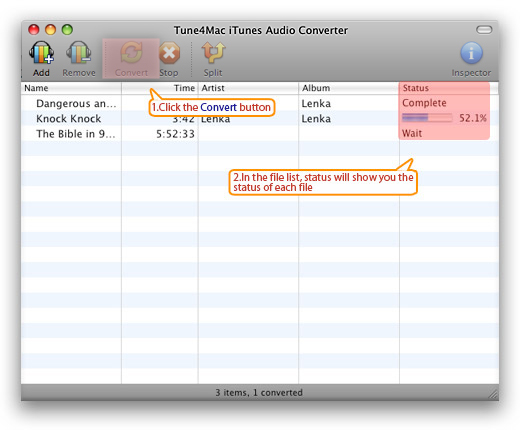 Convert .aa files into .mp3