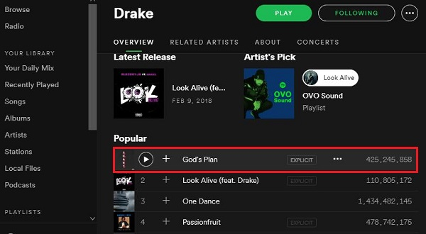 Download Drake S God S Plan Mp3 For Free Tune4mac