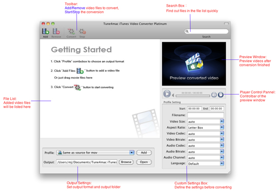 The interface and basic feature instruction of iTunes Platinum