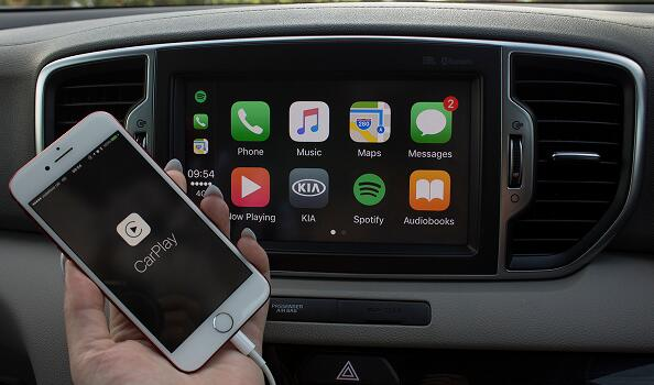 Connect app with your car via Android Auto and Apple Carplay