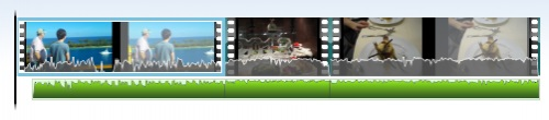 Windows movie maker audio