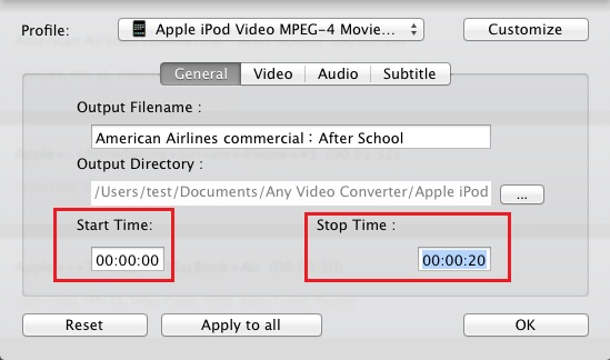 Any Video Converter Ultimate for Mac FAQs(2)